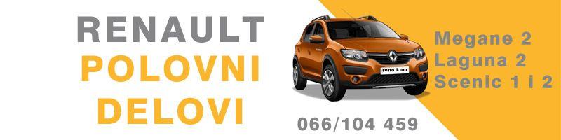 Renault Megane 2 Laguna 2 Scenic 1 i 2 polovni delovi