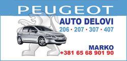 Polovni delovi Peugeot
