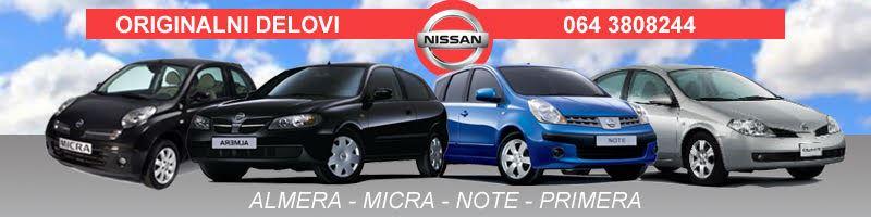 Nissan polovni delovi