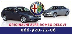 Polovni delovi za Alfa Romeo