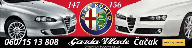 Alfa Romeo 146 polovni delovi