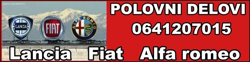 Fiat Alfa Lancia delovi