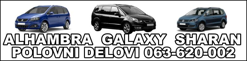 Polovni delovi sharan seat alhambra ford galaxy