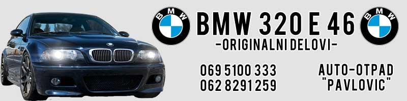 Baner je za BMW e 46 (delovi)