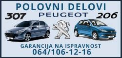 Peugeot polovni delovi