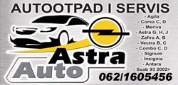 Astra Auto Opel Delovi