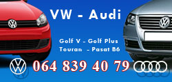 Polovni delovi VW vozila i Audi