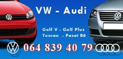 Polovni delovi VW vozila i A