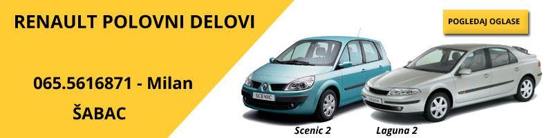 Polovni delovi Renault Scenic2 i Laguna 2