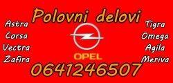 Polovni delovi Opel