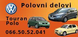 Polovni delovi Touran i Polo
