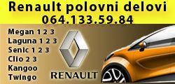 Renault žile šabac