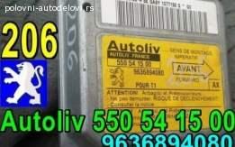 AirBag 206 CENTRALA Autoliv 550 54 15 00 Peugeot 9636894080