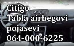 Airbegovi , table, pojasebi Citigo