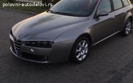 Alfa Romeo 159 Krilo kod boje 651