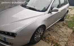 Alfa Romeo 159 prednji branik