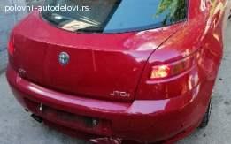 Alfa Romeo GT zadnji branik
