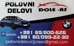 Alternator za BMW e 60 520 dizel 2007-2011