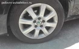 Alu felne 5x100 R15 Škoda