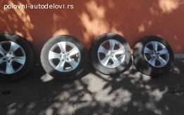 Alu felne 5x112 R16 Škoda