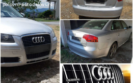 Audi A4  b7   2004 do 2008  Kompletan u delovima
