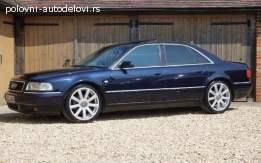 Audi A8 2.5 TDI 2002. god Delovi