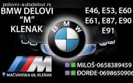 BMW delovi M Klenak