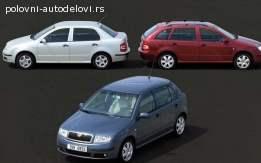 Bočna stakla Škoda Fabia 1