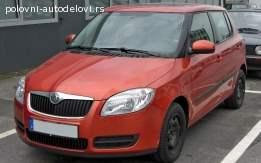 Bočna stakla Škoda Fabia 2