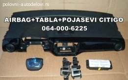 Citigo pojasevi tabla airbag