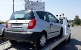 Citroen C2 1.1 benzin Delovi
