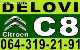 Citroen C8 Hladnjak Ventilator Kompresor Presostat i DELOVI