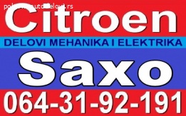 Citroen Saxo Kontakt za paljenje BRAVA i DELOVI razni