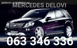 Delovi menjaca za Mercedes