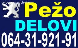 Pežo Delovi Peugeot 106 205 305 306 309 405 605 806 Partner