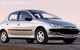 DELOVI Peugeot 206