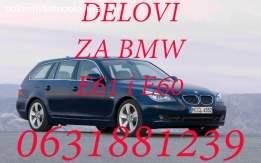 Delovi za BMW 520d E61 i E60