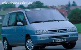 Delovi za Citroen evasion, Fiat ulysse, Peugeot 806