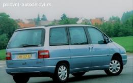 Delovi za Peugeot 806, evasion, ulise