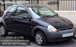 Enterijer Ford Ka