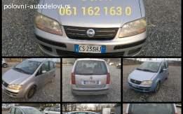 Fiat Idea 1.3 mjet Delovi