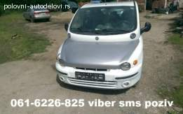FIAT MULTIPLA 1.9 JTD DELOVI 061-6226-825 VIBER SMS POZIV