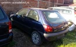 Ford Fiesta tddi u delovima za 2001. god.