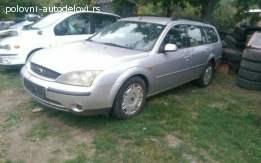 Ford modeo 1.8 bezin 2002god delovi 061-6226-825 sms poziv v