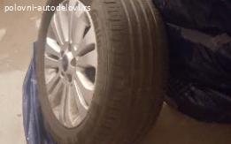 Ford Mondeo. Letnje gume sa alu-felnama