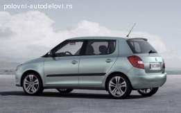 Gepek vrata Škoda Fabia 2
