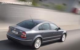 Gepek vrata Škoda SuperB