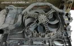 Hladnjak vode sa ventilatorom za Fiat Stilo 1.9JTD
