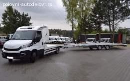 Iznajmljivanje šlep prikolica i prevoz vozila