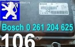 Kompjuter 106 Bosch 0 261 204 625 Peugeot
